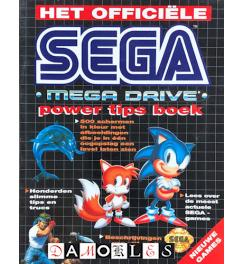 Het officiele Sega Mega Drive power tips boek